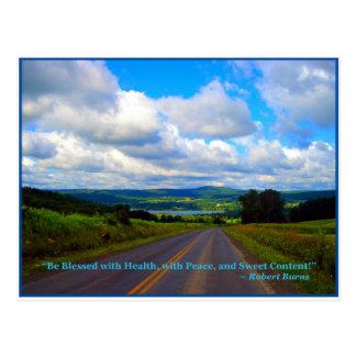 You take the High Road Postcard