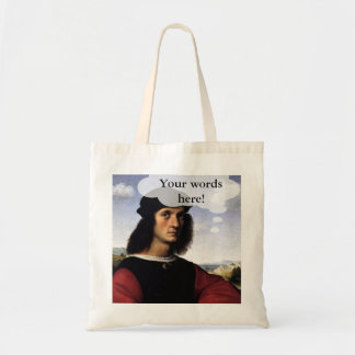 You Think It tote Budget Tote Bag