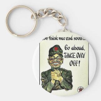 You Think War End Soon? Keychains