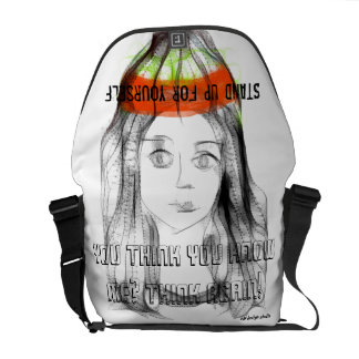 You Think You Know Me? Think Again! Courier Bag