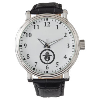 You tie to the circle, the wild goose gold watch