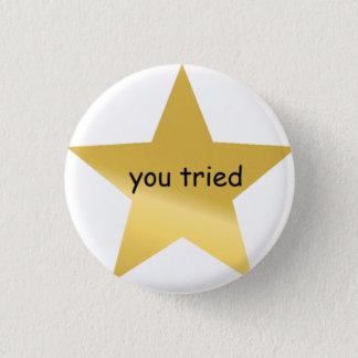you tried pin