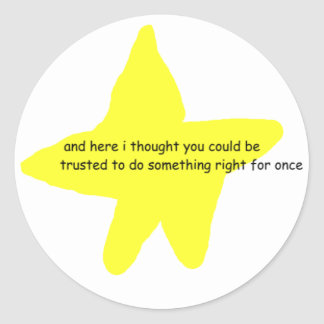 You Tried Stickers