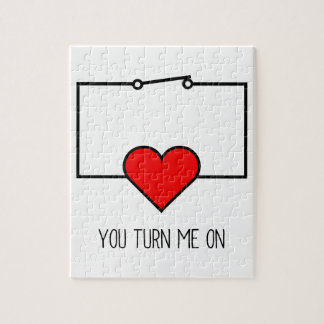 You Turn Me On Jigsaw Puzzle
