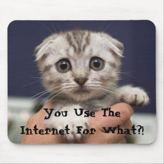 You Use The Internet For What?! Mouse Pad