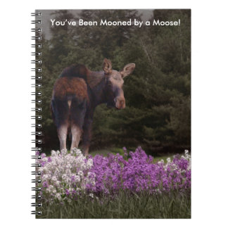 You've Been Mooned by a Moose! Notebook