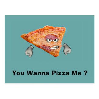 You Wanna Pizza Me Postcards