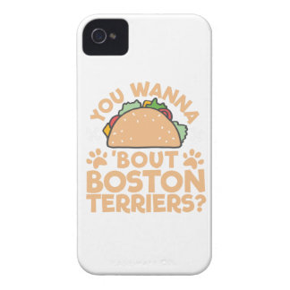 You Wanna Taco Bout Boston Terriers? iPhone 4 Cases