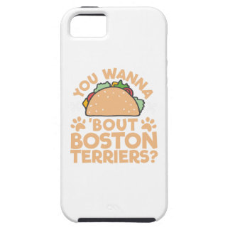 You Wanna Taco Bout Boston Terriers? Tough iPhone 5 Case