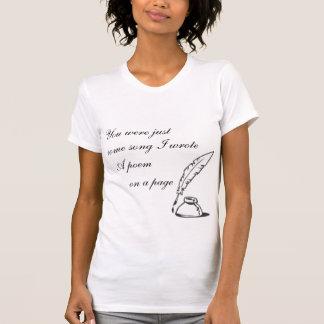 You Were Just A Song Women's shirt