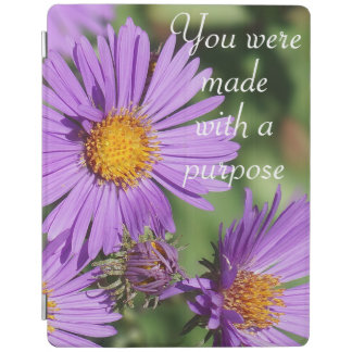 You Were Made New England Aster iPad Cover
