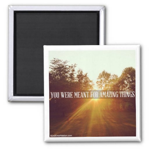 you were meant for amazing things magnet