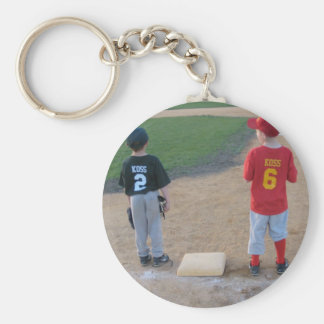 You Were Out Basic Round Button Key Ring