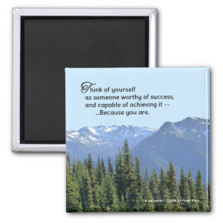 You Will Succeed...Inspirational Quote Magnet
