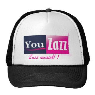 You Zazz line Trucker Hats