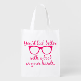 You'd Look Better with a Book in Your Hands Bag