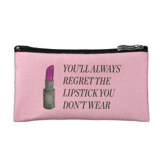 You'll Always Regret the Lipstick You Don't Wear Makeup Bag