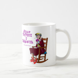 You'll Get My Point! Granny, Fuchsia, MN Series Basic White Mug