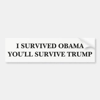 You'll Survive Bumper Sticker