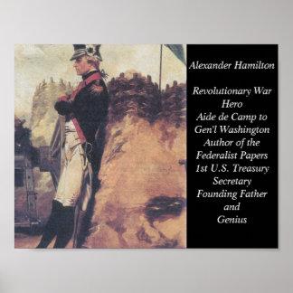 Young Alexander Hamilton poster