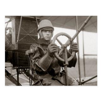 Young Aviator, 1912 Postcard