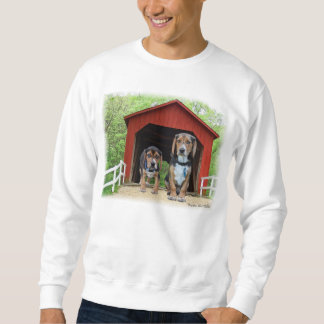 Young Beagles Sandy Creek Covered Bridge Dog House Sweatshirt