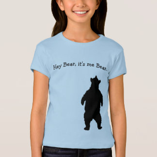 Young Bear Researcher T-Shirt