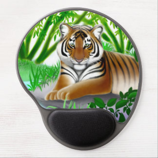 Young Bengal Tiger in Jungle Gel Mousepad