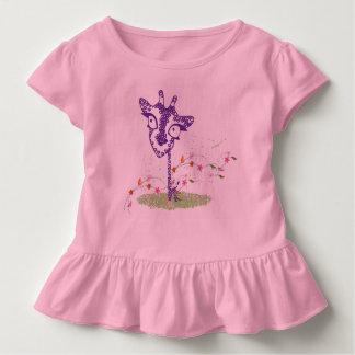 young blouse of giraffe drinks toddler T-Shirt