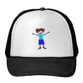 Young Boy - s Drawing Cap