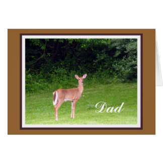 Young Buck Father's Day Card