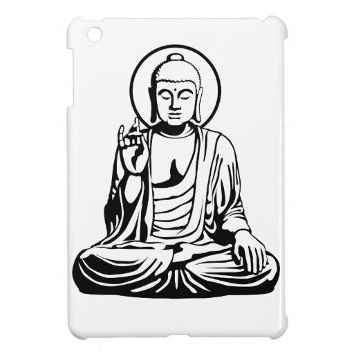 Young Buddha No.1 (black) Cover For The iPad Mini
