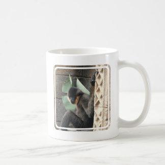 Young Capuchin Monkey Coffee Mug
