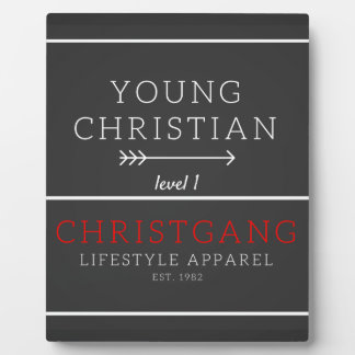 Young Christian - level 1 Plaques