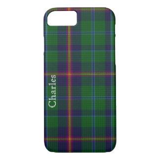 Young Clan Classic Tartan Plaid iPhone 7 Case