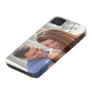 Young Couple Bridge iPhone 4 Case