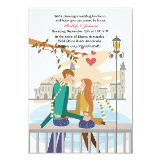Young Couple's Dream Honeymoon Invitation