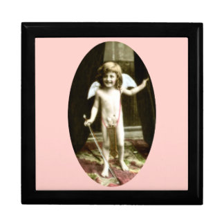 Young Cupid Large Square Gift Box