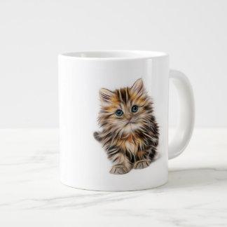 Young Cute Cat Jumbo Mug