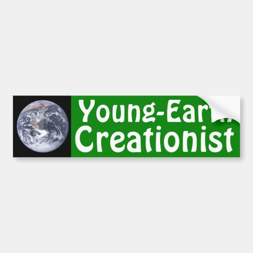 Young-Earth Creationist Bumper Stickers