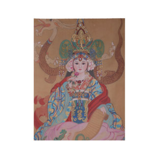 "Young Empress Wood Poster 19"" x 14.5"""