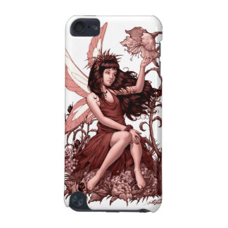 Young Fairy with Flowers by Al Rio iPod Touch (5th Generation) Case