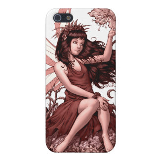 Young Fairy with Flowers by Al Rio iPhone 5/5S Cover