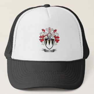 Young Family Crest Coat of Arms Trucker Hat