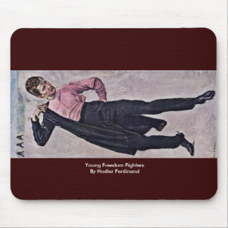 Young Freedom Fighters By Hodler Ferdinand Mousepad