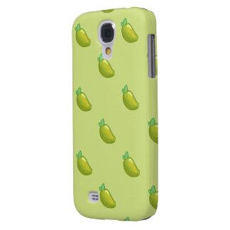 young fresh mango pattern samsung galaxy S4 Galaxy S4 Cases
