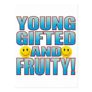 Young Fruity Life B Postcard