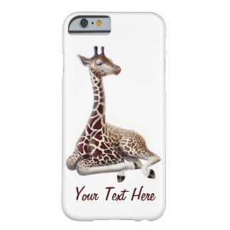 Young Giraffe at Rest iPhone 6 Case