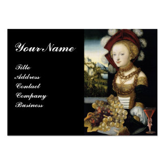YOUNG GIRL ,ANTIQUE VINEYARD GRAPES WINE TASTING BUSINESS CARDS