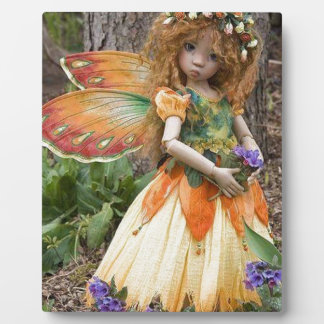 Young Girl Fairie Display Plaque